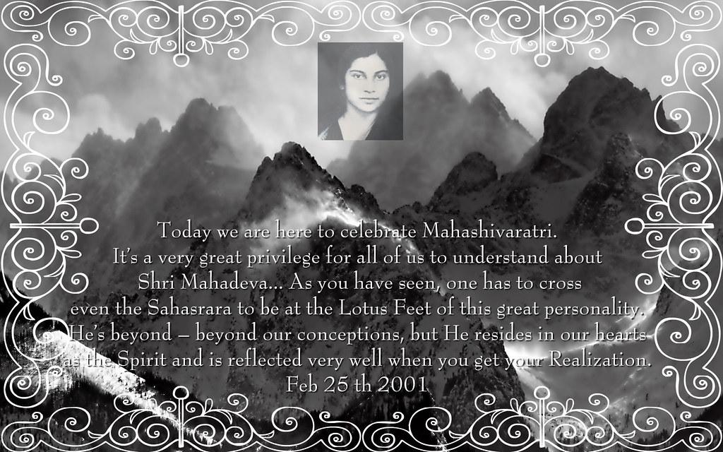 Mahashivaratri 2010 Greeting
