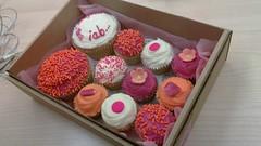 Caaaaaaaakes!!! (whatleydude) Tags: pink food cakes cake cupcakes iab loveliness nomnomnom 1000heads