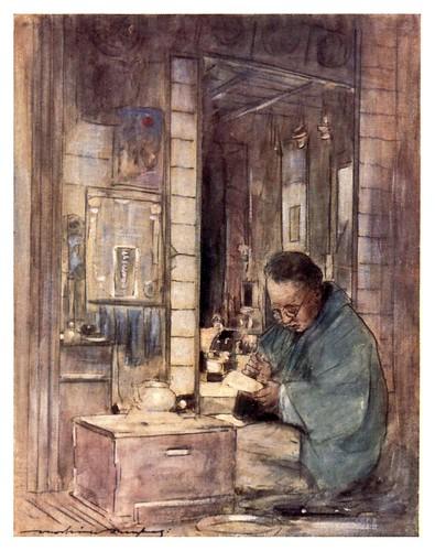 015-Sacando las cuentas-Japan  a record in color-1904- Mortimer Menpes