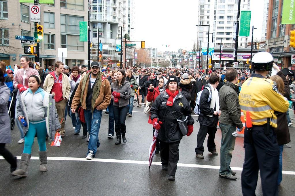 Yaletown Crowd