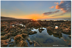 I Hope We Can Be (Zakaria Salhi) Tags: africa travel sunset sky orange sun seascape beach clouds landscape nikon rocks sigma morocco filter maroc 1020 plage hdr marokko dreamscape rabat afrique d300 10mm zakaria salhi 112010