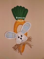 Pscoa (Bunica Chica by Silvia Lima) Tags: feltro coelho pascoa cenoura