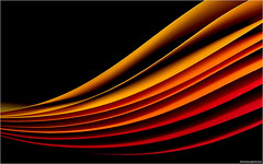 Paper I (pascalbovet.com) Tags: red orange yellow paper flash wave
