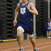 East Catholic's Kevin Kosis during the men's sprint medley relay