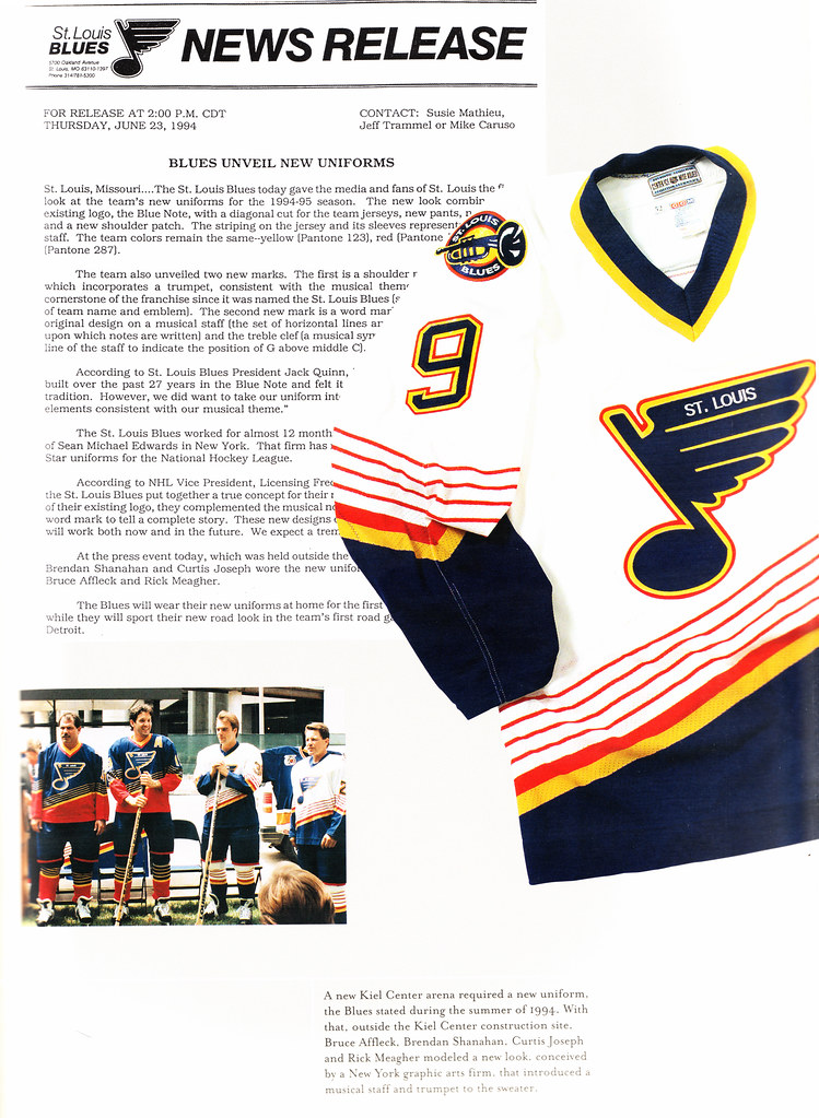 Did Mike Keenan save the St. Louis Blues from wearing the most ... cca6b0995