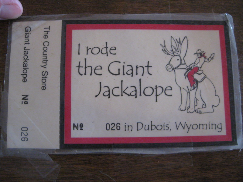 Jackalope Ticket