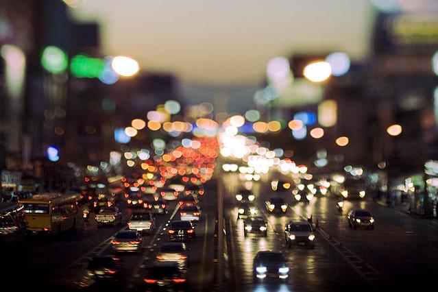 Bokeh city