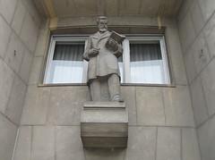 Novi Sad City Centre - Sculpture of Đorđe Natošević (Neotalax) Tags: sculpture djordjenatosevic vojvodina serbia novisad ujvidek neusatz