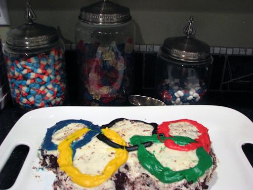 rings cake