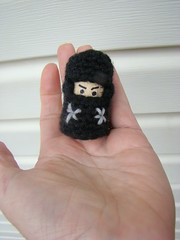 Day 17: crochet + cork =Ninja