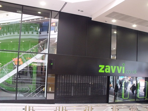 Zavvi - former store in the Pavilions