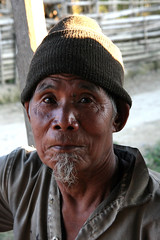 Local man  in the village of Tigu, Arunachal Pradesh (sensaos) Tags: portrait people india face rural asia village native retrato traditional north culture tribal portrt east tribe portret ritratto cultural portre indigenous pradesh arunachal famke noord oost azi stammen daporijo tagin dumporijo sensaos