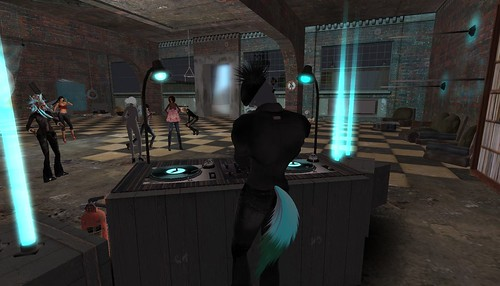 party in second life
