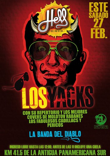 Los Yacks - Hell Disco
