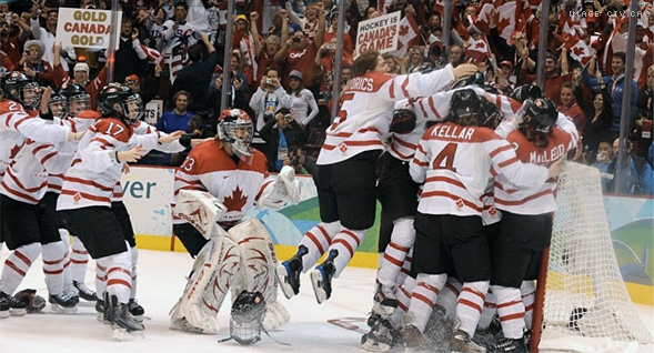 Canadian Women's Hockey GOLD!
