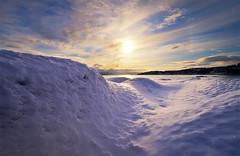 LOW (~~~johnny~~~) Tags: blue winter light sea sun snow seascape texture sol beautiful wonderful coast norge interestingness heaven shoreline norwegen structure explore shore polarizer artic wonders lunchbreak intersting harstad troms skinn nd8 northofnorway johnnymyrenghenriksen