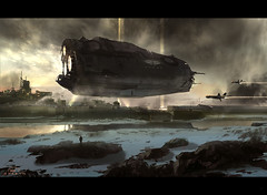 Tribute to Foundation (sparth) Tags: illustration image foundation concept 2d asimov 2010 conceptart