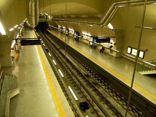 Merto de Lisboa: Estação S.Sebastião