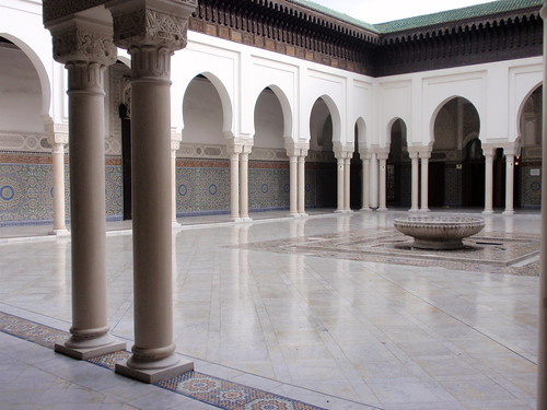 Paris Mosque Courtyard