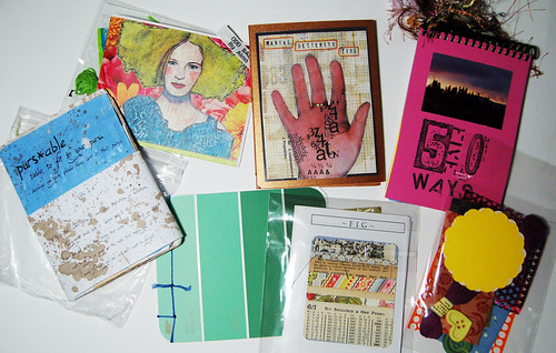 Zines from swap