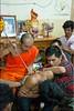 Long Needle (Ursula in Aus (Away Travelling)) Tags: tattoo thailand yantra tattooing waikhru nakhonpathom นครปฐม ประเทศไทย sakyant tattoofestival รอยสัก watbangphra nakhonchaisi วันไหว้ครู earthasia nakhonchaisri totallythailand วัดหลวงพ่อเปิ่น ครู รูปสัก วัดบางพระ ลายสัก สักยันต พิธีไหว้ครู