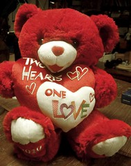 my valentines bear