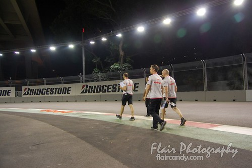 Singapore F1 Day 1 Practice 44 - Lewis Hamilton