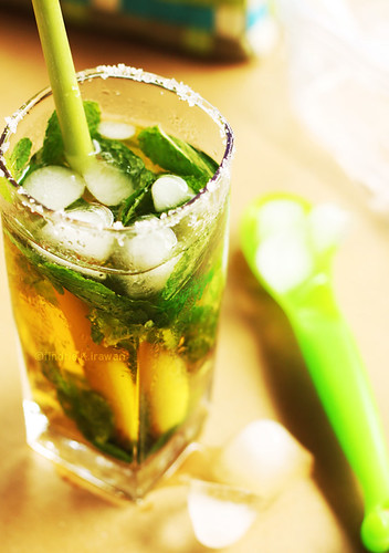 Apple Mint Soda
