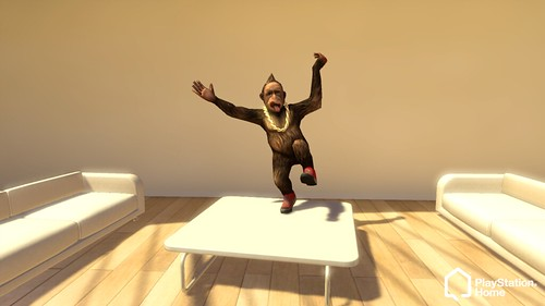 PlayStation Home - The Tester Monkey