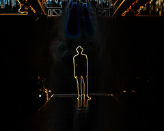 """I have the stardom glow."" (☆Mi☺Λmor☆) Tags: light shadow copyright india man fashion silhouette glitter canon photography hotel model glamour focus ramp mine glow photographer designer weekend walk smoke bangalore dream makeup guys danny labels theme week dslr karnataka drama merchant dazzle catwalk maximus 2010 dinesh kumar bfw fashionphotographer 40d primeart ottera ☆mi☺λmor☆ sidnid anjaanasafar primefineart bangalorefashionweek2010 jan28jan31 bangalorefashionphotographer dannymaximus fotocrafter dmaximus anjaanarahi"