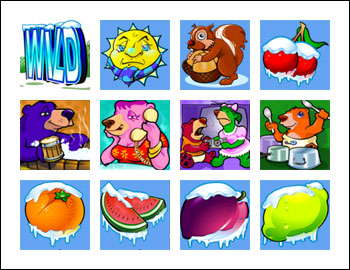 free Cabin Fever slot game symbols