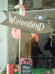 This way to Wonderland