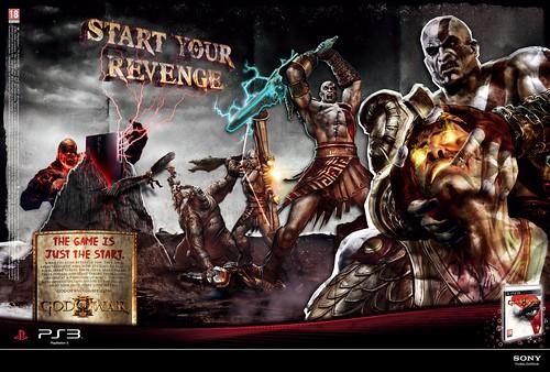 God Of War III Print Advert