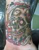 Sugar Skull Tribute Tattoo