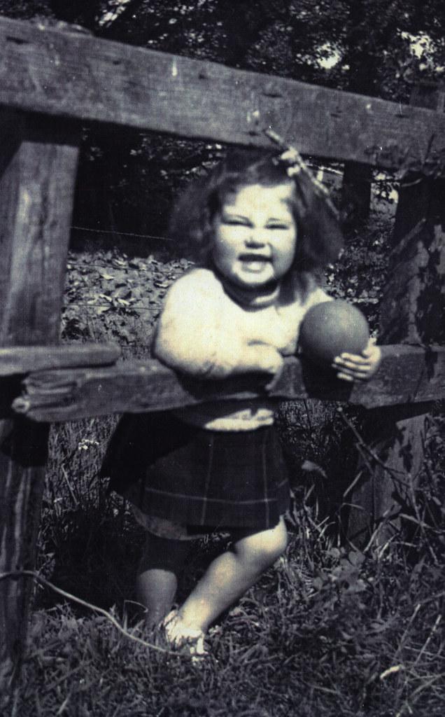 Rosemary McCarthy, 1951.
