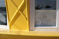 Livingston, IL - We Serve Nuts (the_mel) Tags: illinois route66 icecream roadsideattractions livingston i55 antiquemall amusingsigns twisteetreat