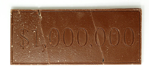 One Million Dollars - Milk Chocolate Bar - Landmark Confections