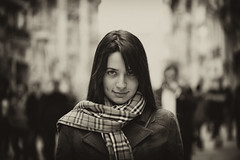 Angel in the Crowd (Volkan Donbalolu) Tags: portrait people macro girl beautiful beauty face female angel turkey square photography photo nikon perfect photographer trkiye great picture photographers istanbul full portraiture micro frame fullframe nikkor fx taksim istiklal turkish vr afs portre volkan gzel kz melek 105mm f28g 105mmf28gvrmicro 105mmvr 105vr meydan 105mmf28vrmicro nikkor105vrmicro d700 105vrmicro nikkor105mmf28gvrmicro 105vrf28 nikond700 nikon105vrmicro portraitworld nikonnikkorafs105mmvrmicrof28ifedn donbaloglu donbalolu volkandonbalolu volkandonbaloglu