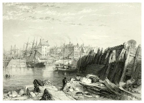 004- Burlington Quay-The ports, harbours, watering-places, and picturesque scenery of Great Britain 1840
