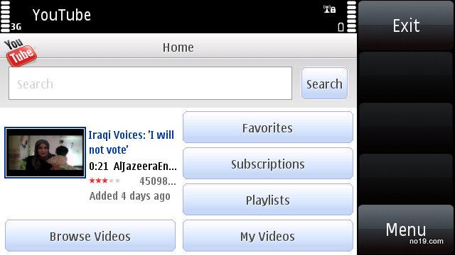 YouTube on Symbian S60 - Screenshot0098