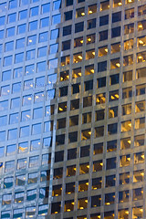 Skyscaper Reflection 2540.4j (Kurt Preissler) Tags: california city windows sky urban reflection building glass skyline architecture modern office losangeles high skyscrapers architectural highrise tall rise scraper highrises skyscaper skycraper skyscapers canoneos5d kurtpreissler preisslermediaservices