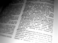 Photography (teachernz) Tags: photography text 365 etymology printedword project365