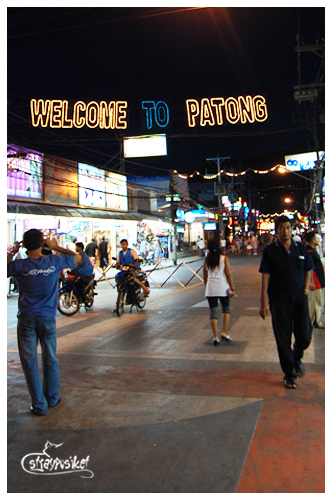 patong at night