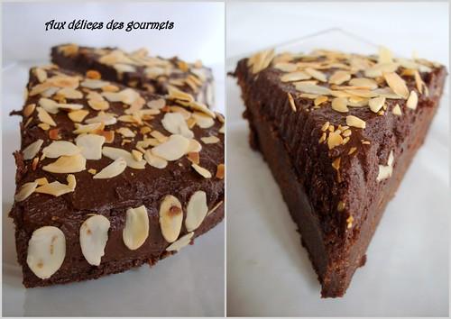 aux délices des gourmets: gÂteau au chocolat et au cafÉ