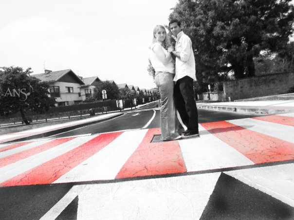 Red Crosswalk