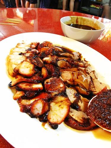 IMG_9863 S$8 -2010 ,Roast Pork and Duck Rice , Singapore Bugis