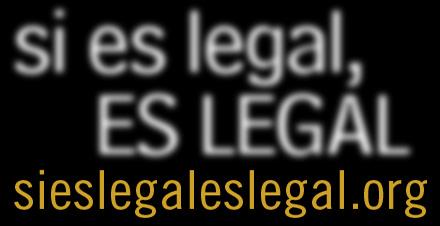 Si es legal, es legal