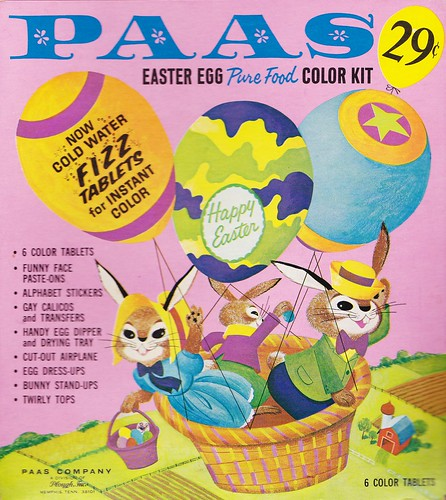 Vintage Paas Easter Egg Coloring Kit 1960s A Photo On Flickriver