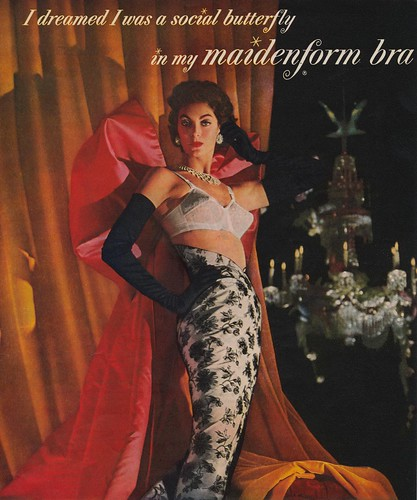 I Dreamed I Was a Social Butterfly in My Maidenform Bra