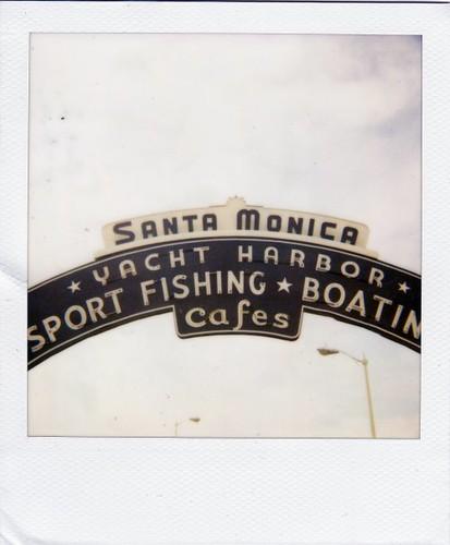 Santa Monica Entrance